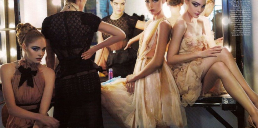 Harper's Bazaar september 2008