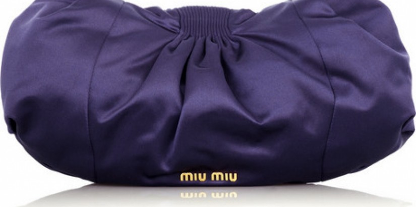 Miu Miu Satin Clutch