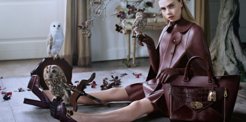 Mulberry fall-winter 2013 ad campaign