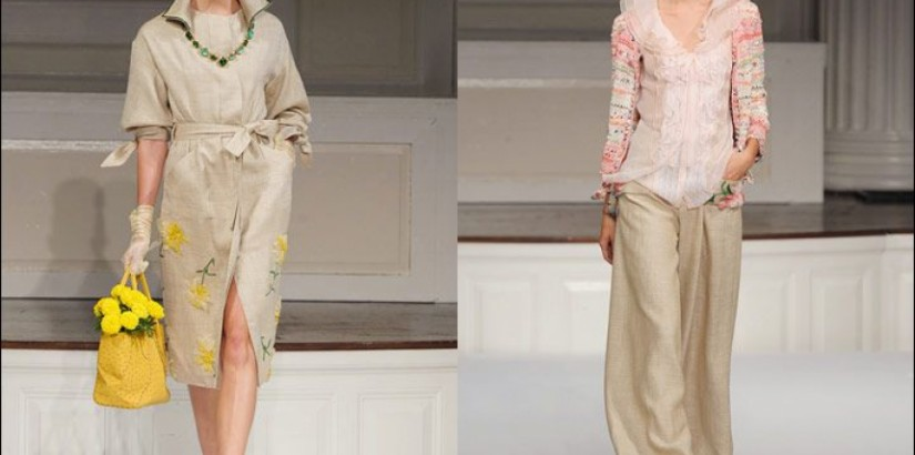 Oscar de la Renta Spring-Summer 2011 Collection