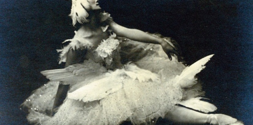 Anna Pavlova as The Dying Swan, c. 1912, by unknown photographer
