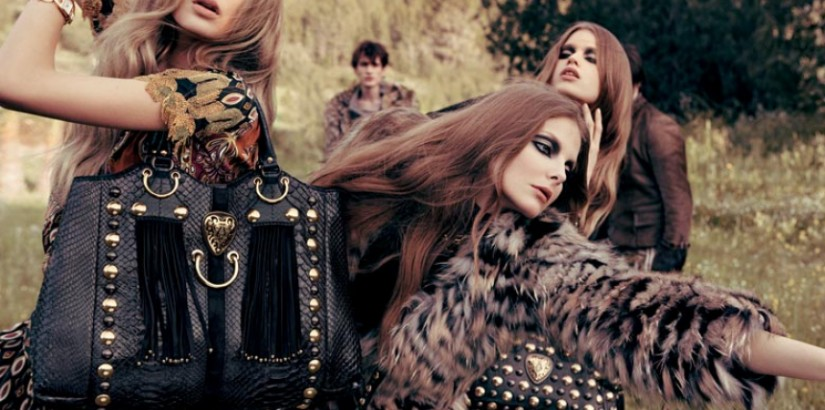 Gucci fall2008-winter2009 ad campaign