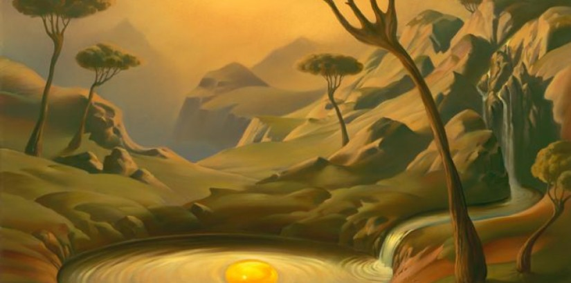 Vladimir Kush, Breakfast on The Lake